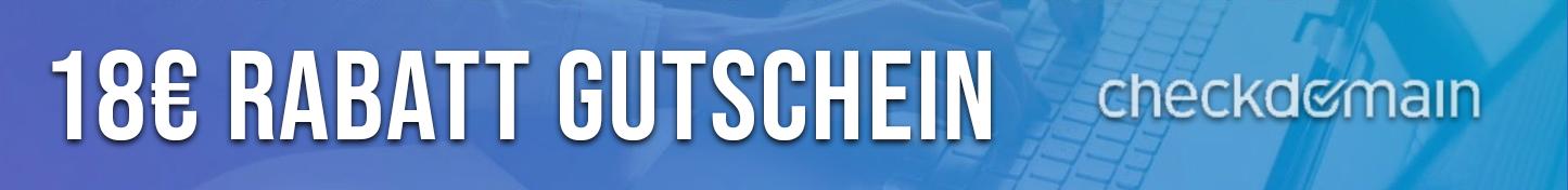Checkdomain.de - Gutschein Rabattcode - 18 Euro