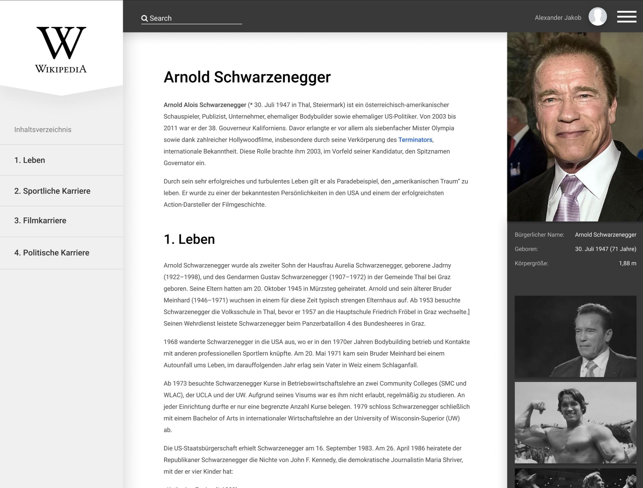 Wikipedia.org Redesign Concept